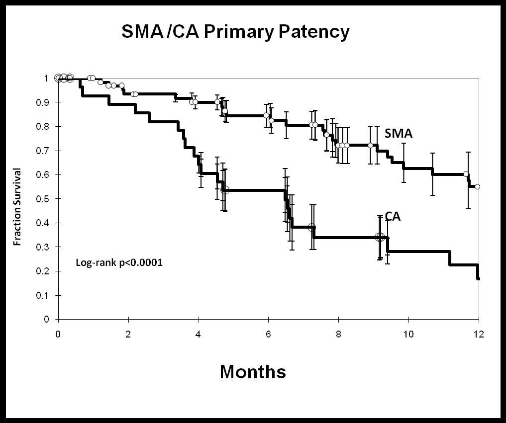 Scvs Our Experience With 140 Visceral Artery Stents Should Celiac