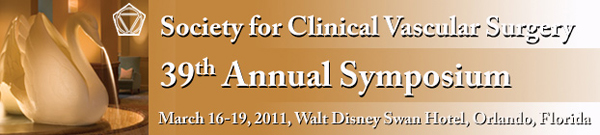 SCVS 39th Annual Symposium, March 16-19, 2011, Walt Disney Swan Hotel, Orlando Florida
