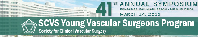 SCVS Young Vascular Surgeons Program - 41st Annual Symposium