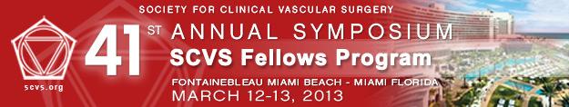 SCVS Fellows Program - 41st Annual Symposium